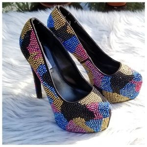 Steven Madden Women's Dyvinal Multicolor Shoes